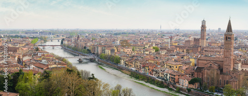 Photo Stands Egypt Panoramic view of Verona.