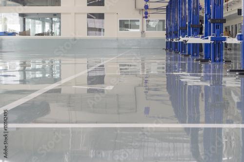 Fotografie, Obraz  interior car-care center