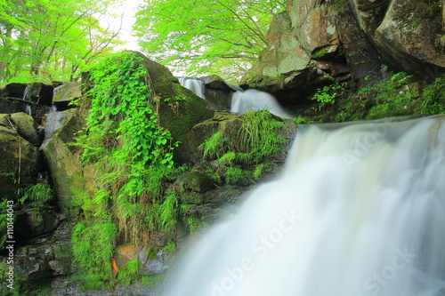 Keuken foto achterwand Watervallen 一関市 霜後の滝