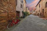 Fototapeta Uliczki - Ancient Italian Town