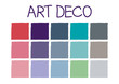 Art Deco Color Tone without Code Vector Illustration