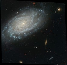 Spiral Galaxy NGC 3370