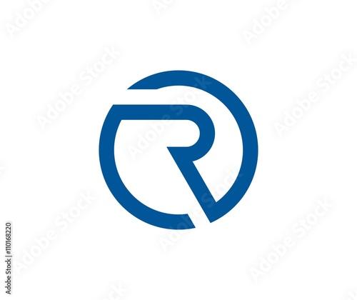 Photo  Letter R logo