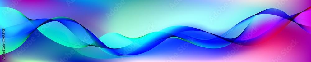 beautiful abstract wave. Baner