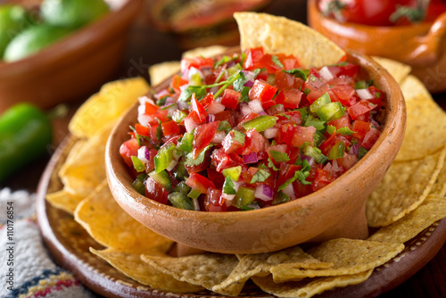 Canvastavla  Salsa Pico De Gallo