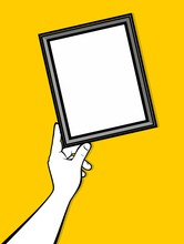 Hand Adjust Skewed Picture Frame