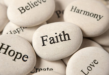 Inspirational Stones - Faith