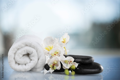 Canvas Prints Countryside Spa Treatment.