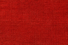 Red Rough Fabric Background