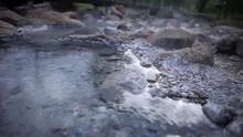 Close Up Hot Water At Pai Hot ...