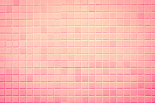 Modern Style Design Of Pink Base Mosaic Tile Texture Wall Of Floor Wall Pattern Decorate