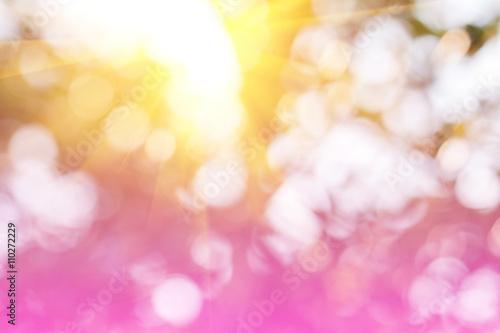 Tuinposter Purper Blur, blur in nature