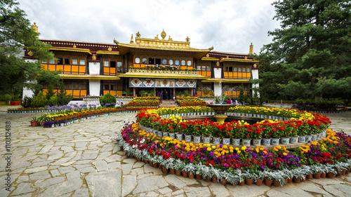 Valokuva Norbulingka summer palace in Lhasa, Tibet