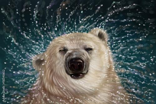 Fototapeta premium Niedźwiedź polarny