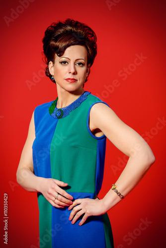 Fotografie, Tablou  elegant mature woman