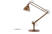 Vintage Copper Desk Lamp