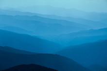 Blue Mountains In Ukraine Carp...