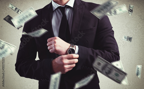 Fototapeta Rich with success obraz