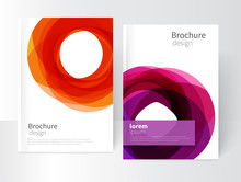 Vector Abstract Business Broch...