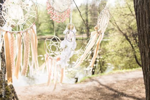 Photo  Wedding decoration: Dream catchers