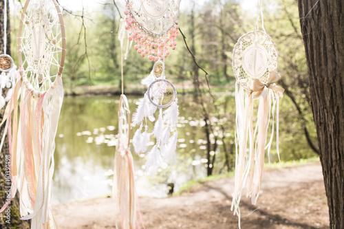 Foto  Wedding decoration: Dream catchers
