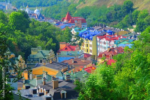 Staande foto Kiev ул.Воздвиженка