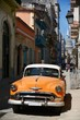 Vintage cars near the Capitol, Havana. Cuba.