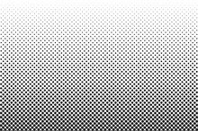 Medium Dots Halftone Vector Background. Overlay Texture.