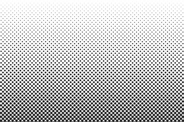 Medium dots halftone vector background. Overlay texture.