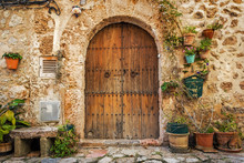 Doorway Of Traditional Stone F...