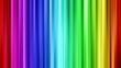 canvas print picture - Regenbogenvorhang