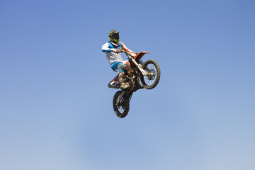 Fototapetamotocross motorcycle sport