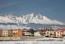View Of Poprad. Slovakia