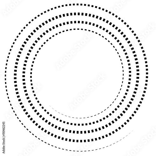 Fototapety, obrazy: Abstract spiral element.  Twirl, swirl, whorl shape.