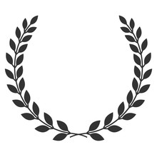 A Laurel Wreath Icon - Symbol ...
