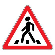 Traffic Sign Pedestrian Crossi...