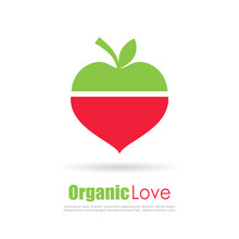 Organic Food Conceptual Logo
