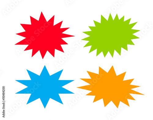 Obraz Bursting speech stars - fototapety do salonu