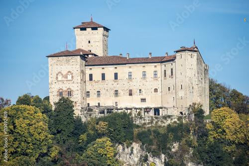 Fotografering  Rocca di Angera ( Italy )