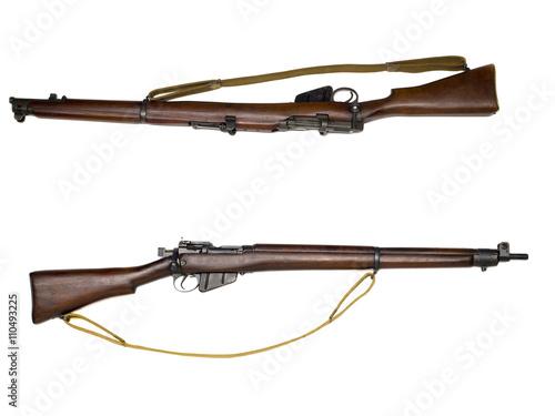 Fotografía  wooden old rifle