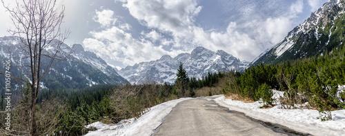 Droga nad Morskie Oko, Zakopane