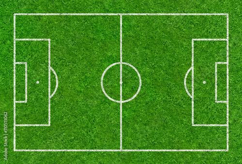 Fußballspielfeld