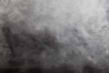 Abstract Fog And Smoke On Dark...