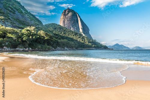 Vermelha Beach in Rio de Janeiro, Brazil Canvas Print