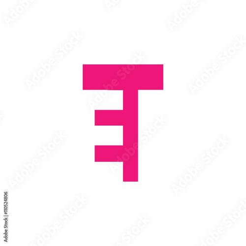 Photo  ET Logo | Vector Graphic Branding Letter Element | jpg, eps, path, web, app, art