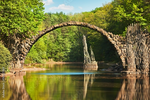 Valokuva  Arch bridge in Germany