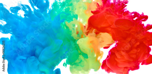 Plakaty malowany w kolorze wody