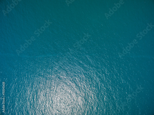 Deurstickers Luchtfoto water surface aerial view