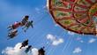 kettenkarussell karussell Oktoberfest wiesn fahrgeschäft fahrgeschäfte riesenrad theresienwiese