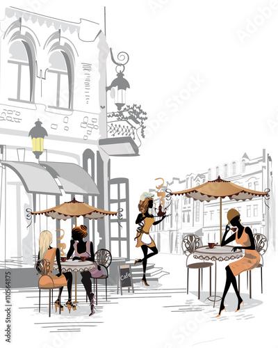 moda-ludzie-w-kawiarni-ulicy